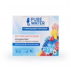 Стиральный порошок для цветного белья Pure Water 800 г